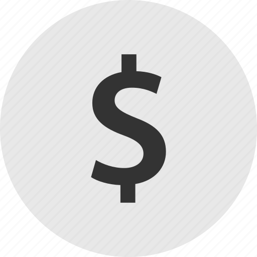 dollar, shopping, sign icon