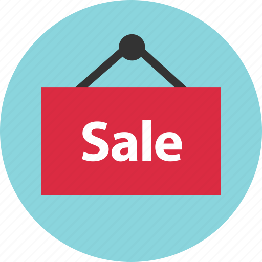 sale, shopping, sign icon