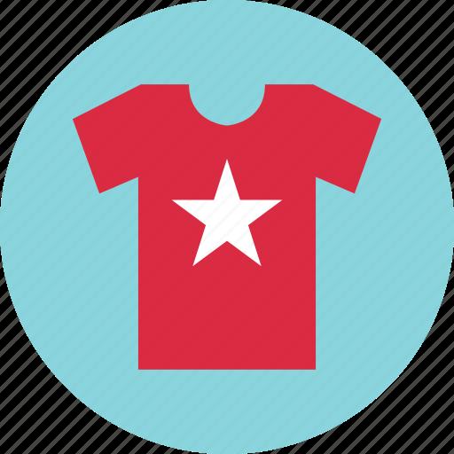 shirt, shop, star, t icon
