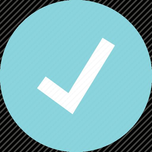checkmark, good, ok, safe icon