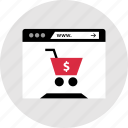 cart, internet, shop, shopping icon
