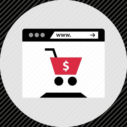 cart, internet, shop, shopping icon