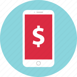 cell, funds, money, pay icon