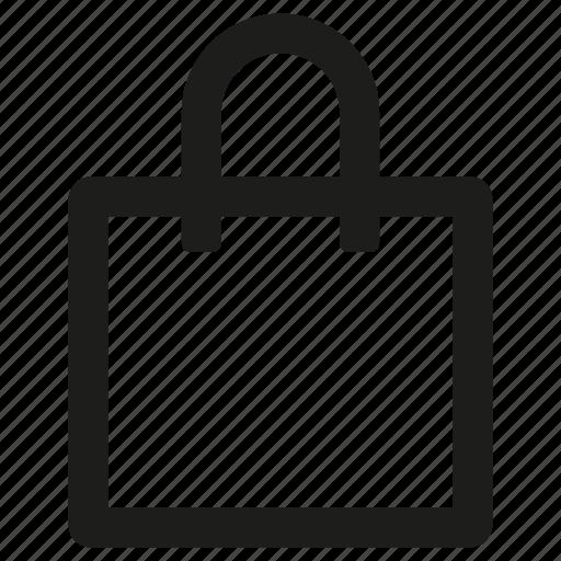 ecommerce, purchase, shopping, shopping bag icon