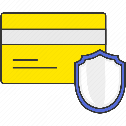 buy, credit card, finance, money, payment, security, shield icon