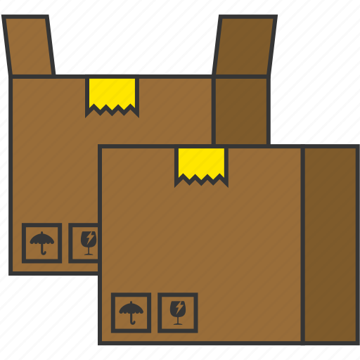 box, bundle, delivery, package, product, shipping icon