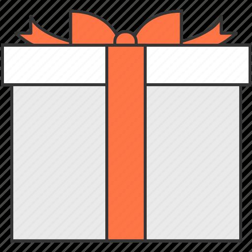 birthday, box, christmas, delivery, gift, present, ribbon icon