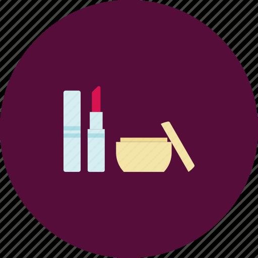 buy, cosmetics, foundation, foundation cream, lipstick, make up, shopping icon