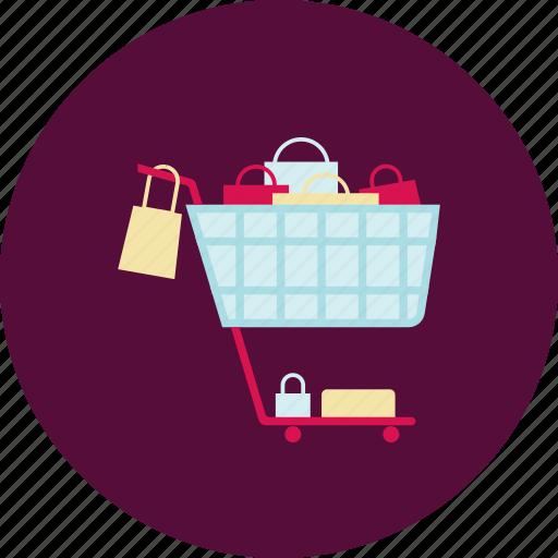 buy, cart, new, shopping, shopping bag, shopping cart, shopping trolley icon
