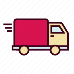 buy, courier, deliver, delivery, shopping, transport, truck icon