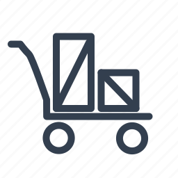 loader, shopping icon