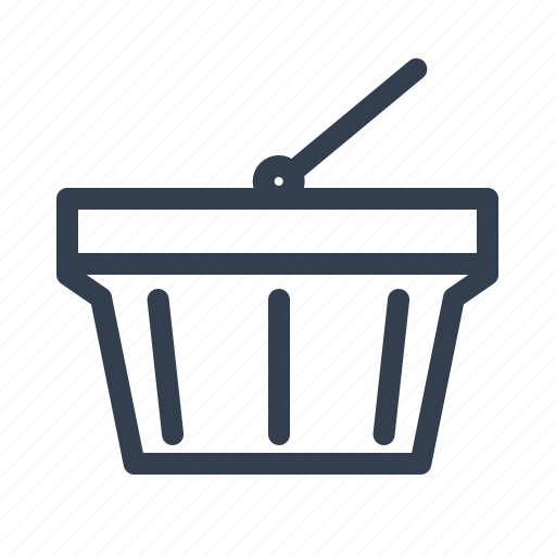 Small, shoping, shopping, cart, basket, ecommerce, financial, sale, payment icon