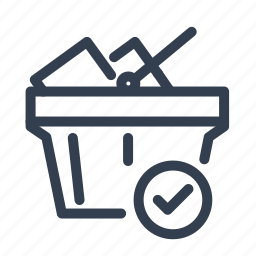business, buy, cart, goods, shop, shopping, shopping cart, with icon