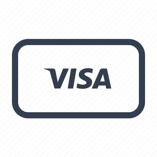 cash, currency, dollar, money, online, payment, price, shop, shopping, visa icon