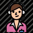 customer, support, call, center, service icon