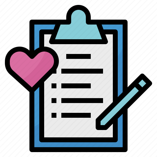 Check, list, love, wish icon - Download on Iconfinder