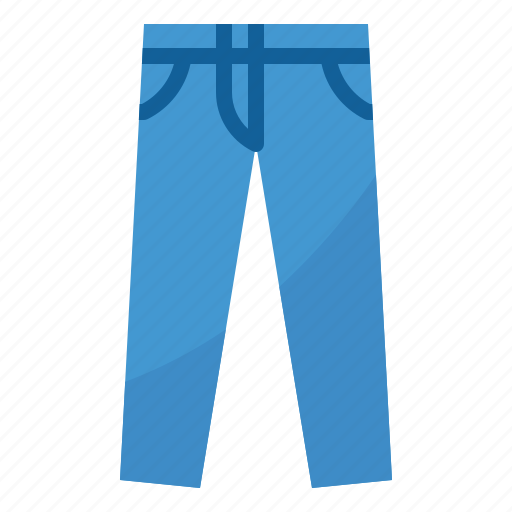 clothing, jeans, pant, trouser icon