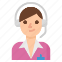 call, center, customer, service, support icon