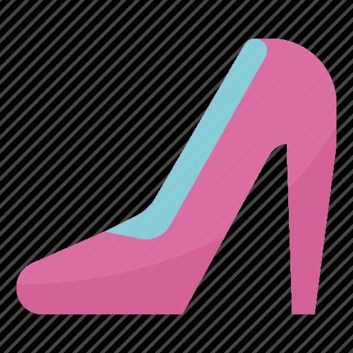 fashions, heel, high icon