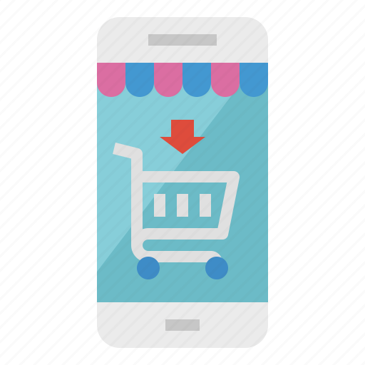 mobile, shop, shopping, store icon
