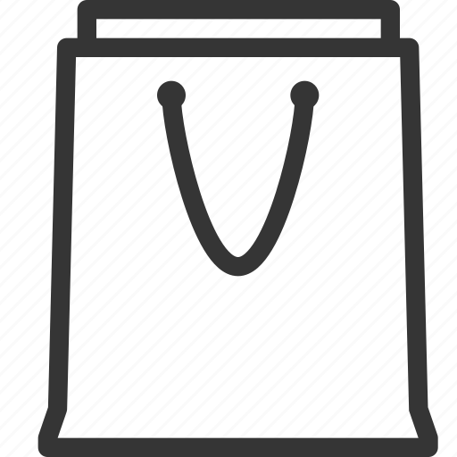 bag, commerce, cursor, online store, shopping cart, supermarket, trolley icon