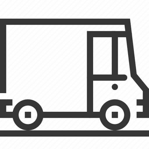 car, cargo, delivery, post, shipment, tracking, transport icon