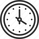 circle, clock, hours, minutes, open, time icon