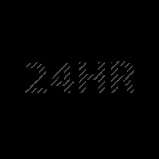 all, day, hours, open, twentyfour icon