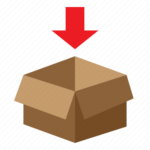 box, package, packing, shipping icon