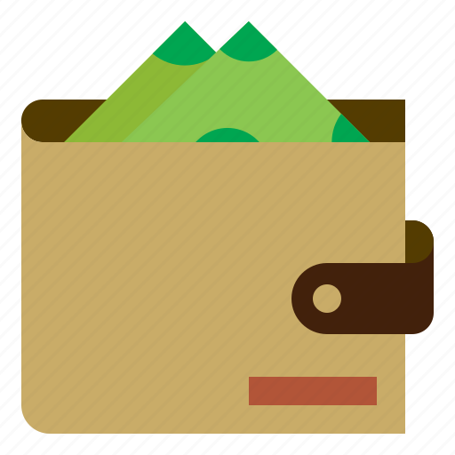 Finance, wallet, money, dollar, cash, currency, payment icon