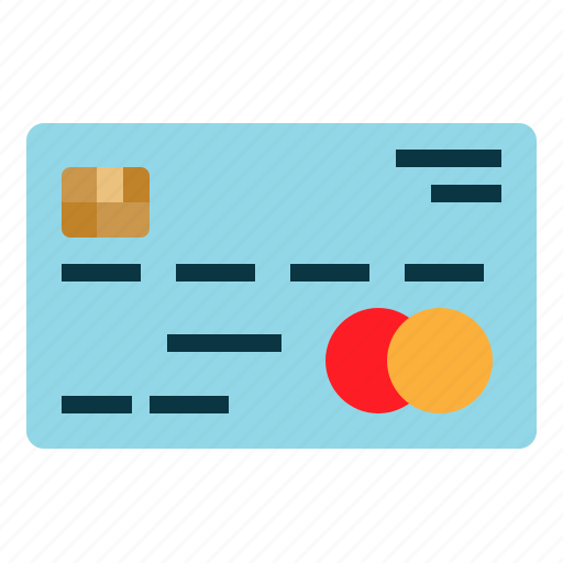 Shopping, money, credit, pay, payment, card icon