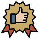 achievement, award, badge, best, seller, winner icon