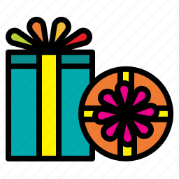 birthday, box, christmas, gift, present, xmas icon