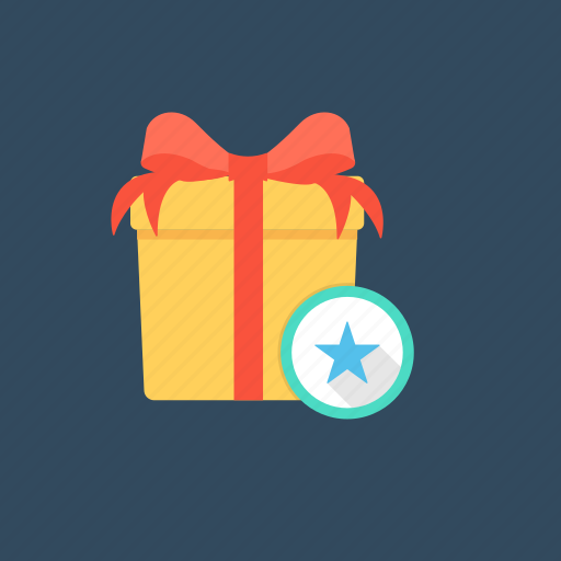 anniversary present, gift, present, special gift, valentines gift icon