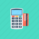 pay with pos, point of sale, card terminal, payment method, payment terminal icon