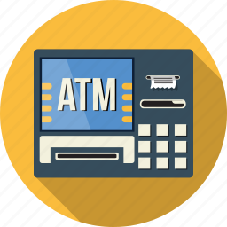 atm, bank, business, ecommerce, financial, shopping icon