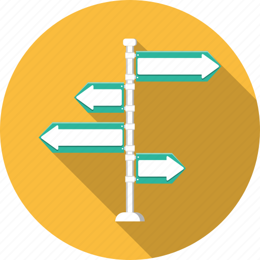 arrows, direction, indicator, left, location, pointer, right icon