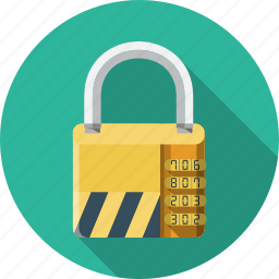 key, padlock, password, private, protection, safe, safety icon