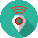 communication, gps, internet, pointer, wifi icon
