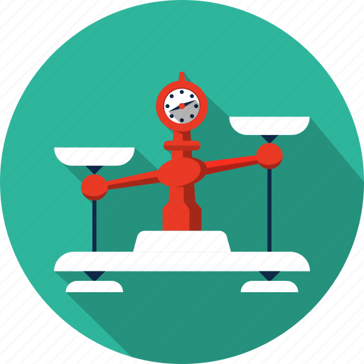 balance, law, measure, scales, tool, weight icon
