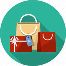 bags, buy, ecommerce, gift, online, sale, shopping icon