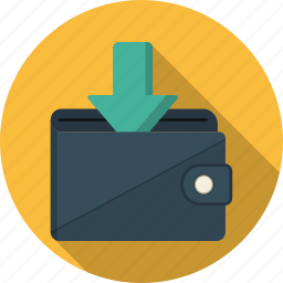 business, cash, loading, money, payment, shopping, wallet icon