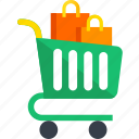 cart, shopping, bags, buy, ecommerce, shop