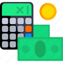 calculator, ecommerce, method, money, payment, shop, shopping icon