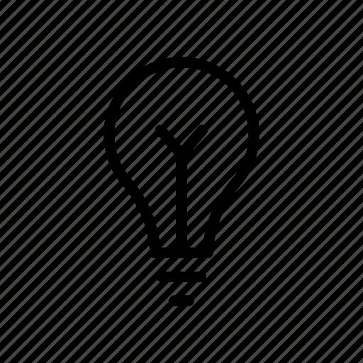 bulb, creative, idea, innovation, shopping icon