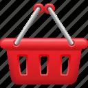 basket, consumerism, retail, shopping, shopping basket