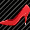 high heeled shoe, shoe, shopping, stiletto, woman shoe icon