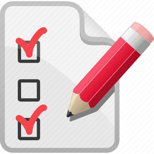 Checklist, list, pencil, shopping, shopping list, test paper icon - Download on Iconfinder