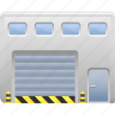 logistics, storage locker, storage unit, warehouse