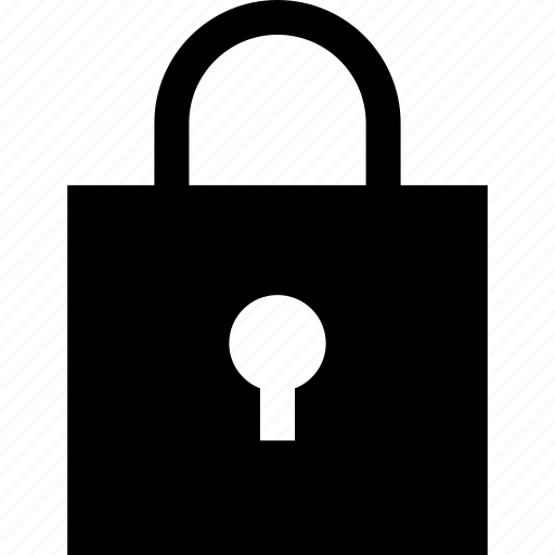lock, online, secured, shop, shopping icon